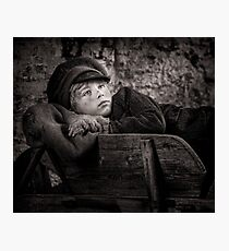 Barrow Boy Photographic Print