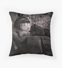 Barrow Boy Throw Pillow