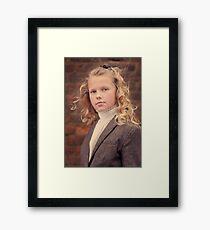 Goldie Locks Framed Print