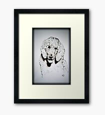 HELLO!!! Framed Print