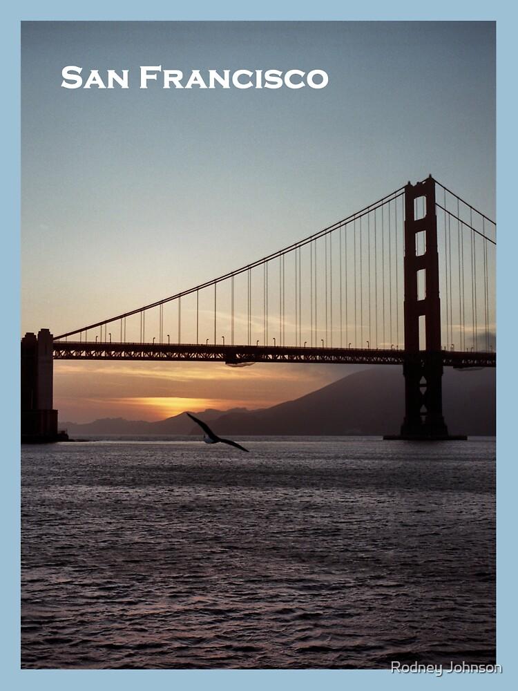 Golden Gate Bridge - Sunset From Torpedo Wharf by rodneyj46
