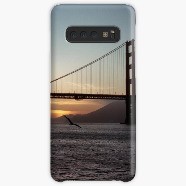 Golden Gate Bridge - Sunset From Torpedo Wharf Samsung Galaxy Snap Case