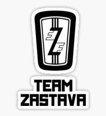 Team Zastava Sticker