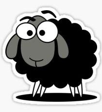 Black Sheep Cartoon Funny T-Shirt Sticker Duvet Cover Sticker