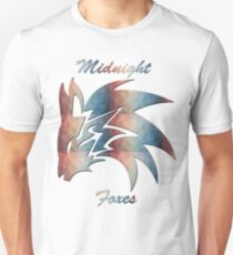 Midnight Foxes (Crystalized) T-Shirt