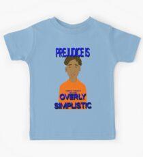 Prejudice Is Simplistic Kids Tee