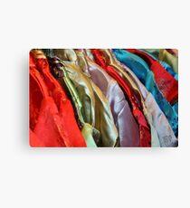 Silk Kimonos Canvas Print