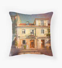 little house Throw Pillow