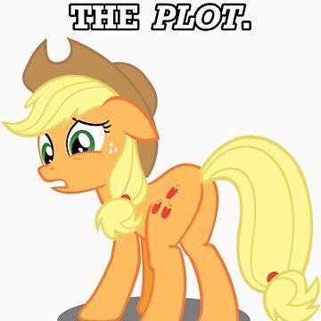 For the Plot (Applejack) by vigorousjammer