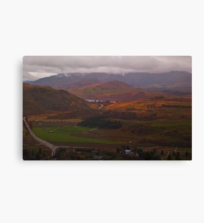 The Road from Arrowtown Canvas Print