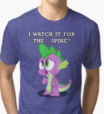 For the... Spike? Tri-blend T-Shirt