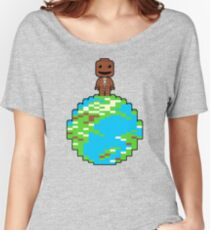 LITTLE BLOCK PLANET Women's Relaxed Fit T-Shirt