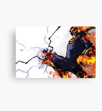 The Captain's Flying Knee Canvas Print