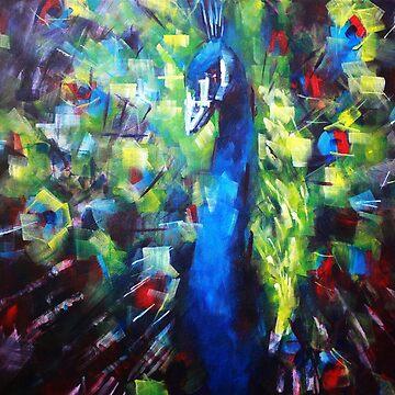 Peacock Painting by SamDurkin