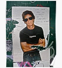 LOU REED POSTER Poster