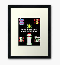 Leave it to the Pros Framed Print