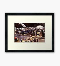 Neat Trains Framed Print