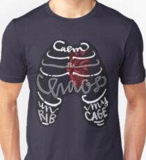 Calm the Chaos in my Ribcage Unisex T-Shirt