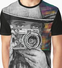 Home on the Rangefinder Graphic T-Shirt