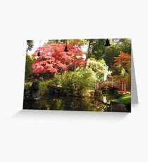China at Biddulph Grange Greeting Card
