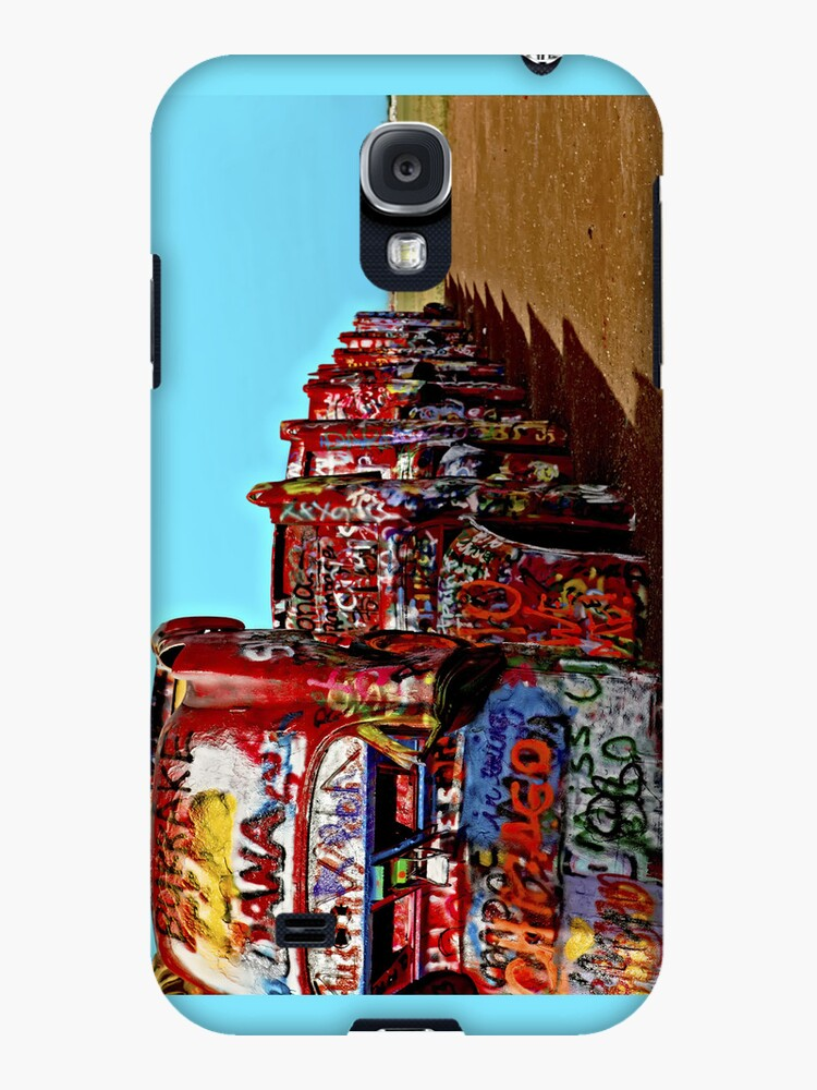 Cadillac Ranch iPhone 4 Case by Warren Paul Harris