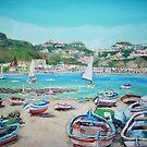 Naxos Beach by Teresa Dominici