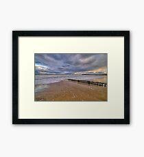 Raafs Beach Hdr Framed Print