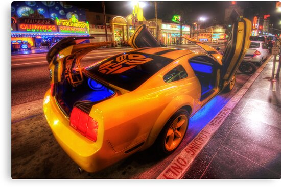 Hollywood Bumblebee by Yhun Suarez