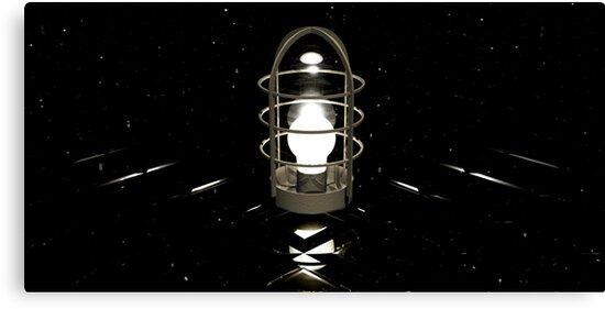 Don't believe your eyes - this is NOT a lamp! (( It's all about self-delusion... )) by Benedikt Amrhein