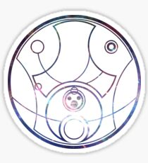 """Hello Sweetie"" Circular Gallifreyan Sticker"