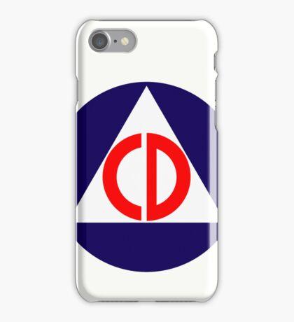 Civil Defence iPhone Case/Skin