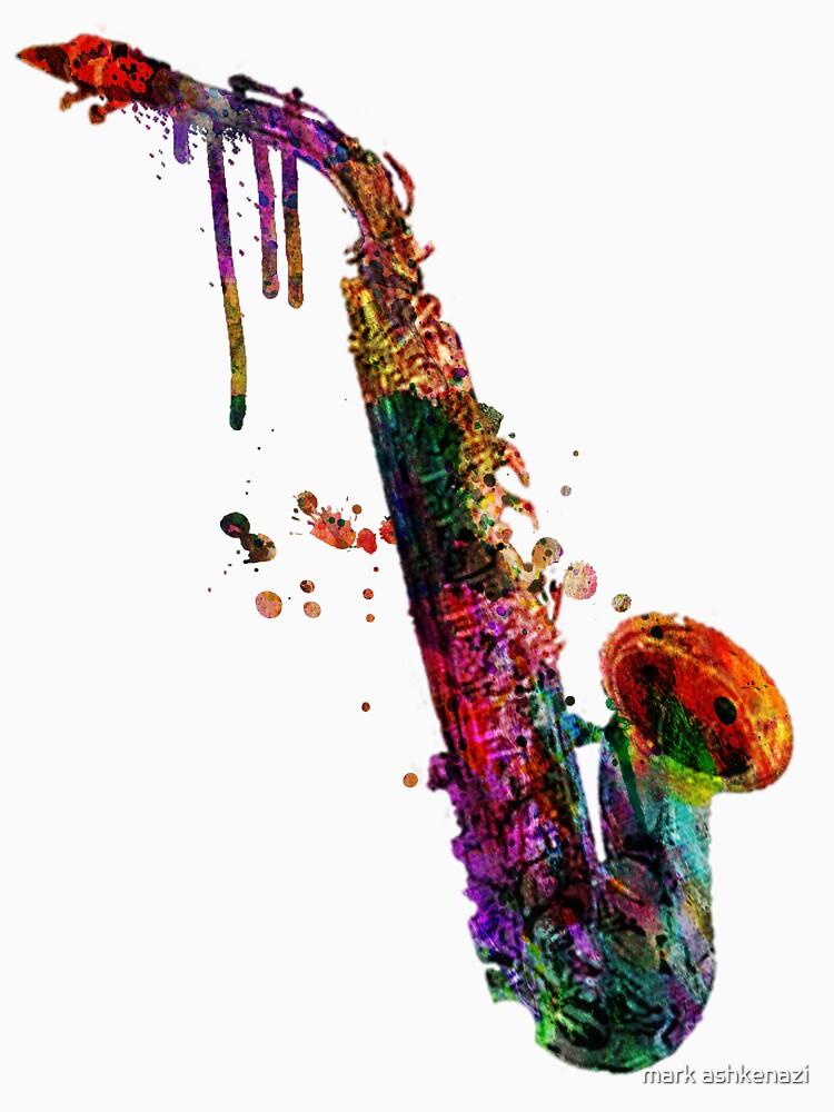 saxophone  by motiashkar