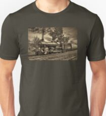 GWR Bradley Manor - Sepia Unisex T-Shirt