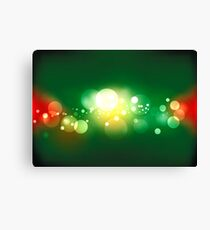 Lights, vector background Canvas Print