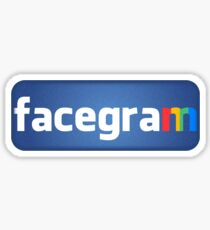 facegram Sticker