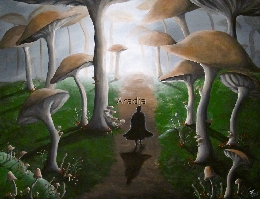 Along A Lonely Path by Aradia