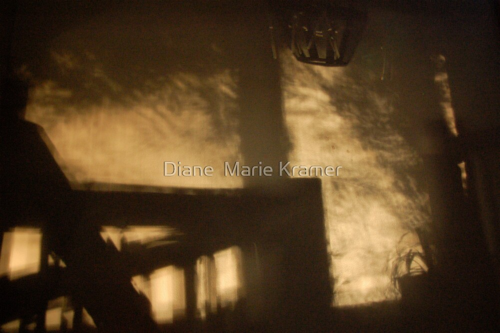 She Quickly Ascended the Stairs by Diane  Marie Kramer