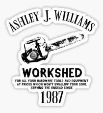Ash vs Evil Dead - Ash's Chainsaw Sticker