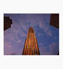 Rockefeller in Lights Photographic Print