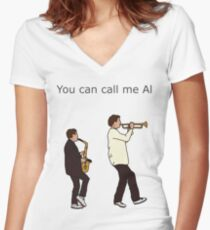 I can call you Betty Women's Fitted V-Neck T-Shirt