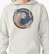 yin yang fish, shuiwudao mandala Pullover Hoodie
