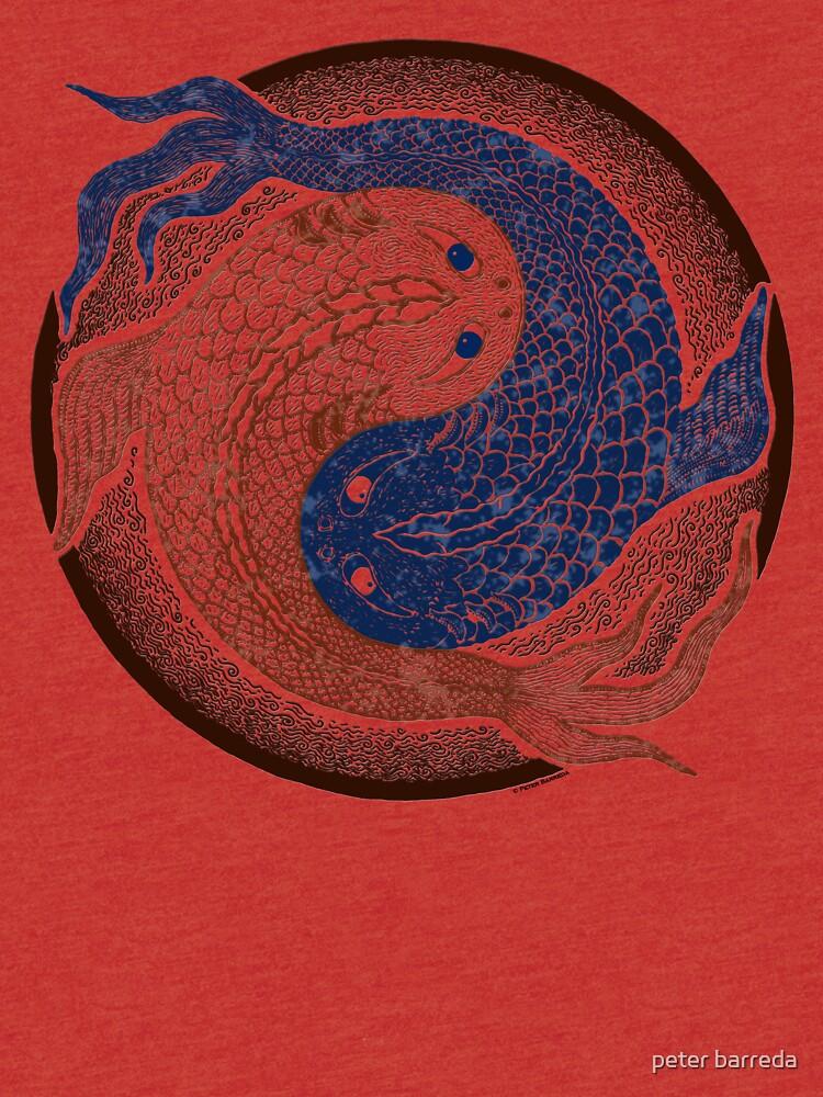 Yin Yang Fisch, Shuiwudao Mandala von peterbarreda