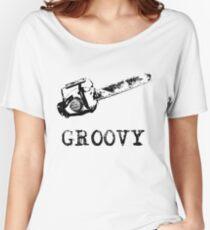 Ash vs Evil Dead - Groovy Women's Relaxed Fit T-Shirt