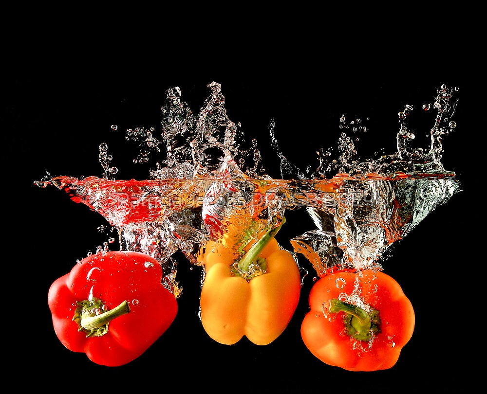 A Splash Of Peppers by Patricia Jacobs DPAGB BPE4