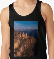 Three Sisters at sunset, Blue Mountains, Australia Tank Top