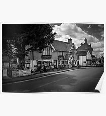The Greyhound Pub: Lingfield, Surrey, UK. Poster