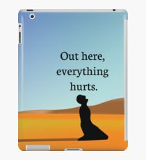Everything Hurts iPad Case/Skin
