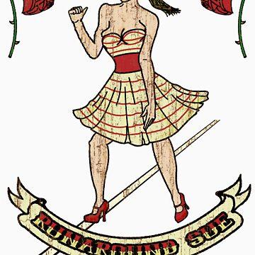 Runaround Sue (Colour Tees & Stickers) by BartonKeyes
