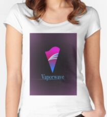 Vaporwave  Women's Fitted Scoop T-Shirt