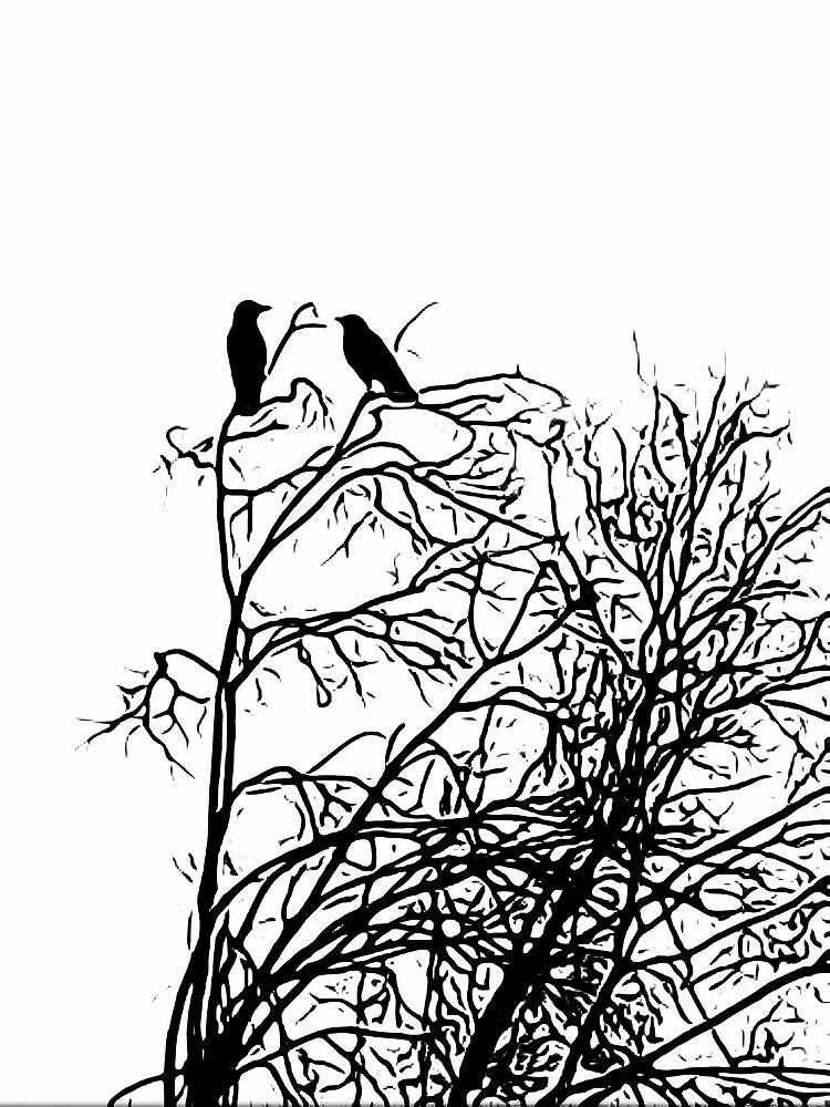 Winter Ravens by Douglas E. Welch by Douglas E.  Welch